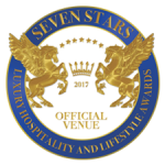 seven star luxury hotel logo